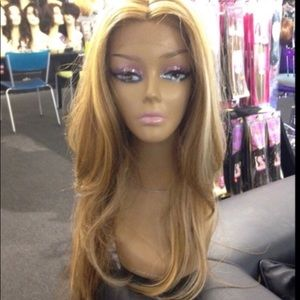Accessories - Blonde long layers wig 30+inc swisslace lacefront